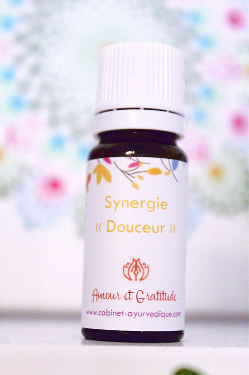 """Synergie """"Douceur"""" : Marjolaine, Menthe, Lavandin..."""