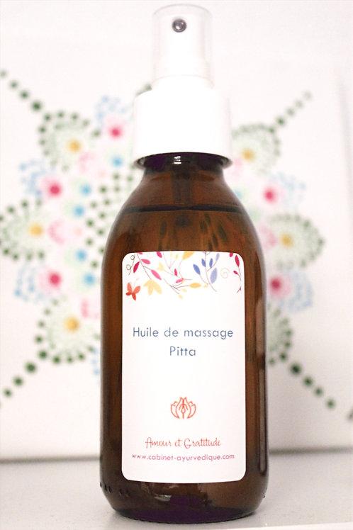 Huile de massage (Pitta)