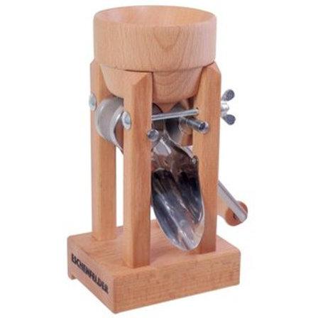 Floconneuse Eschenfelder modèle de table (avec entonnoir en bois)