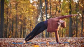 Le yoga l'automne