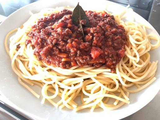 Les 6 goûts en ayurvéda avec une recette de Spaghetti Bolognaise.