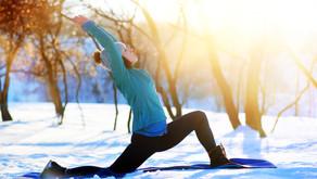 Le yoga l'hiver