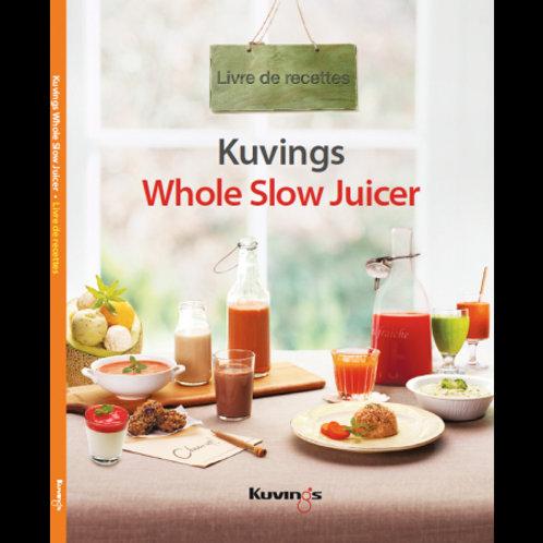 Kuvings - Livre de recettes en français