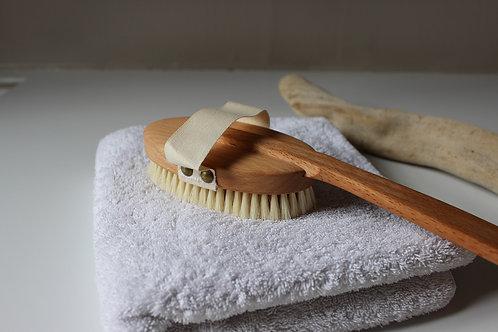 Brosse pour brossage à sec