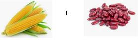 Végétarien, où trouver les protéines ? Maïs et haricots rouges.