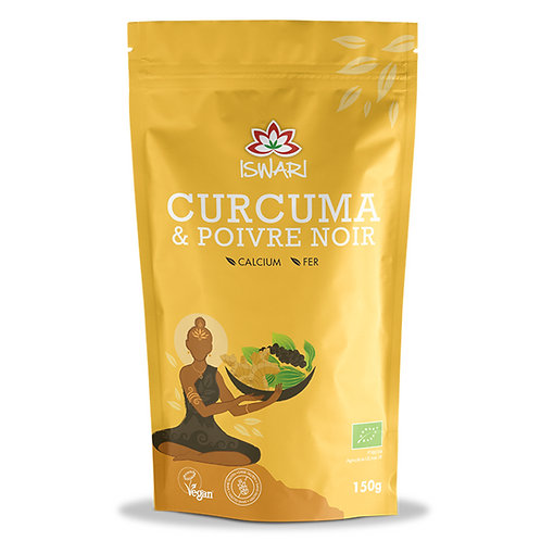 Curcuma et Poivre 150g