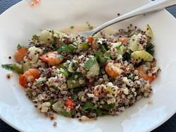 quinoa crevette