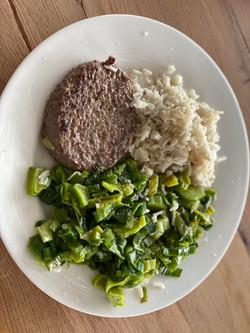 steak haché