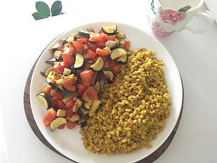 plat équilibrà en protéines végétales_mo