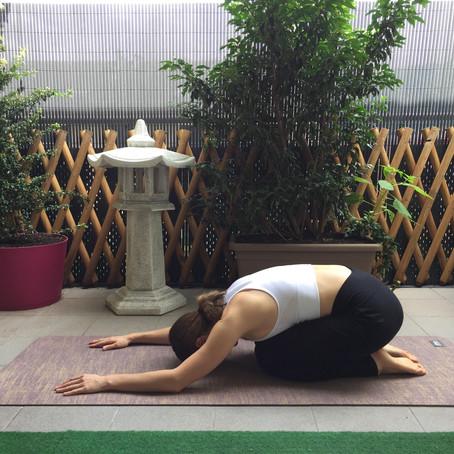 Postures de repos en yoga