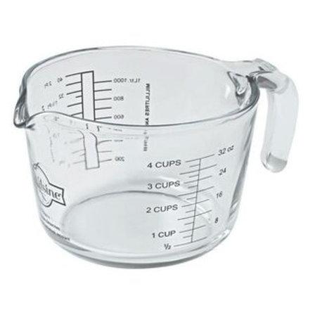 Pichet en verre d'un litre