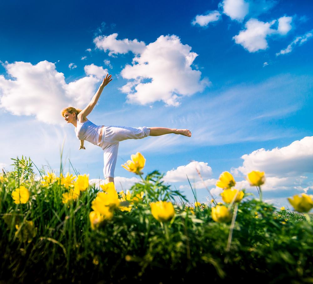 Le yoga du printemps