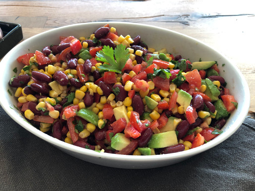 Salade antioxydante