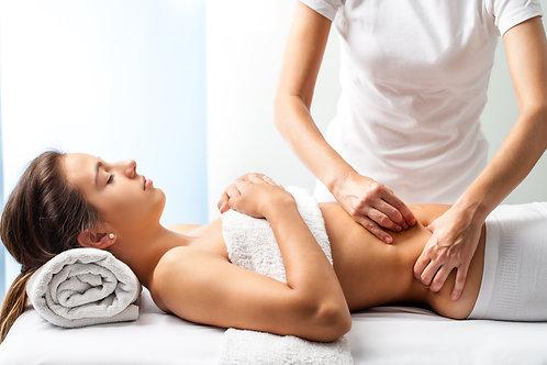 Massage du dos + reboutement viscéral 1h