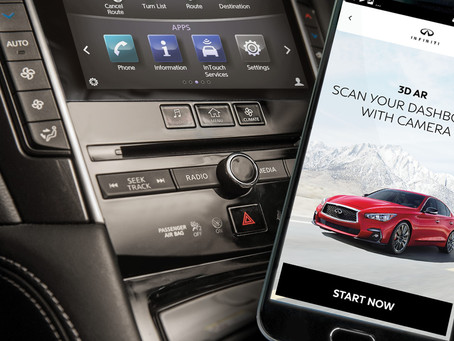 INFINITI's new Driver's Guide app upgrades the driving experience
