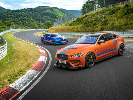TAXI! EXPERIENCE JAGUAR XE SV PROJECT 8, THE WORLD'S FASTEST SEDAN, ON THE NÜRBURGRING NORDSCHLEIFE