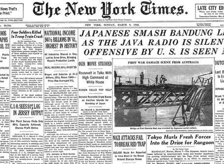 Buffett's World War II Debut