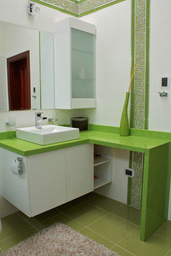 Baño en Tono Verde