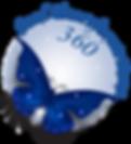 Blue Butterfly logo Soul Transformations 360