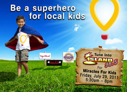 Children's Miracle Network commissio