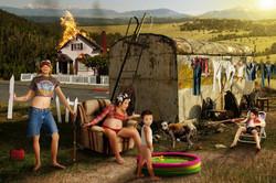 Redneck Family Portrait