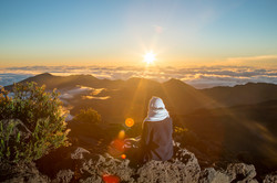 Maui sunrise Hawaii landscape photo
