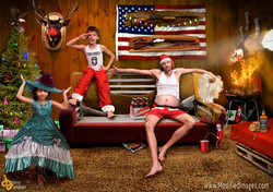 Our Redneck Christmas Card