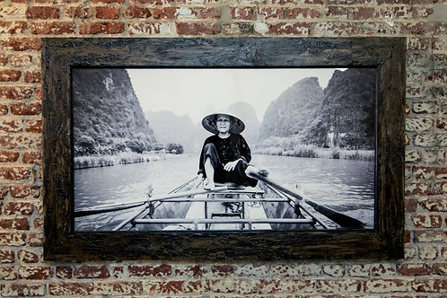 64x42 (custom framed) - Lady of The River