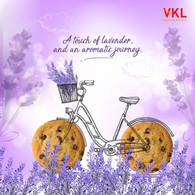 A new food flavour - Lavender Cookies