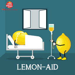What did the lemon do when his friend fell sick?
