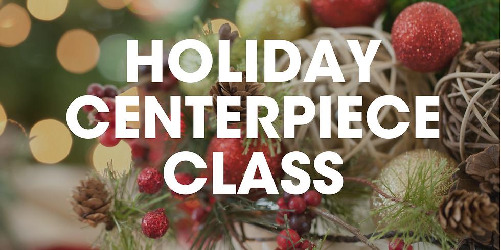 Virtual Holiday Centerpiece Class