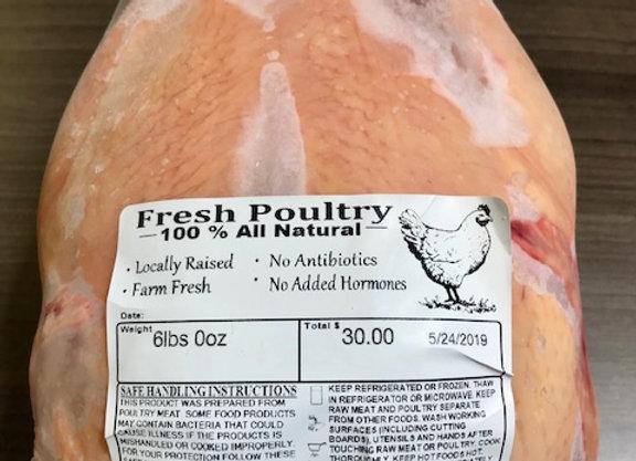 Farm Fresh Free Range Chicken