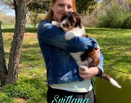 Svitlana and Jasper