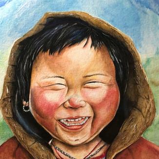 Himalayan Child