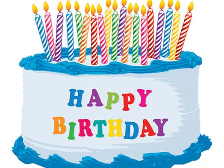 My Birthday Blog!