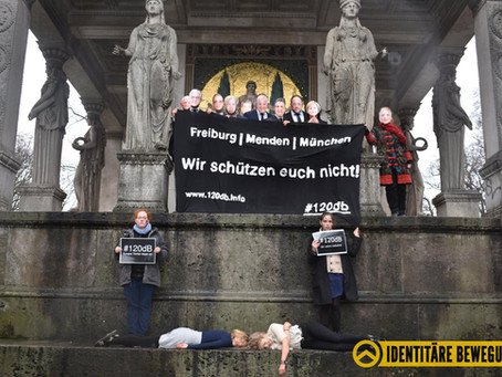 120 Dezibel - Aktion in München