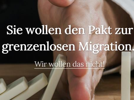 UN-Migrationspakt stoppen!