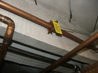 Getting Weird EMF Readings?  Check the Water Pipes