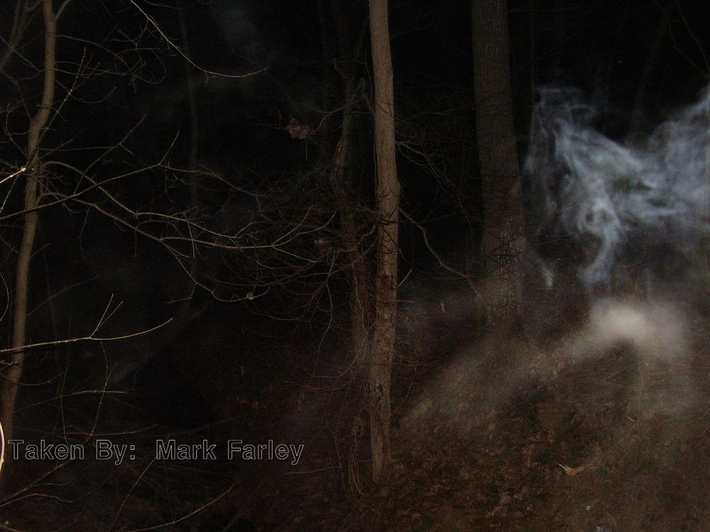 Mist captured at the Seven Gates of Hell