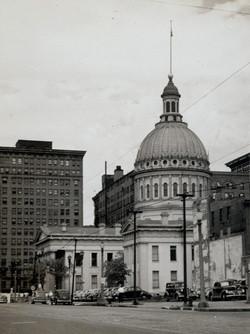 Old Court House, 1946.  Photo Missouri History Museum