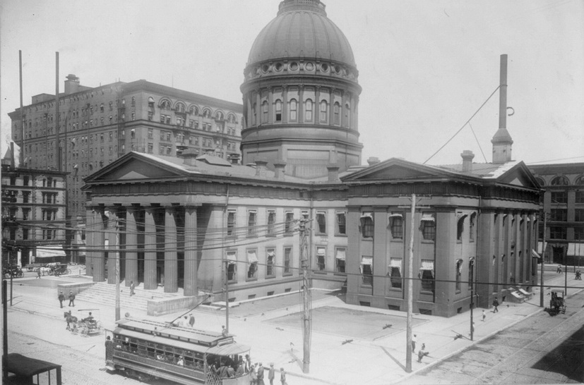 Old St. Louis Courthouse, ca. 1910. #STLPRS Photo; Pruitt Igoe Myth, Flickr