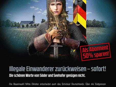 COMPACT-Konferenz: Ja zum Grenzschutz! Ja zum bayerischen Volksbegehren!