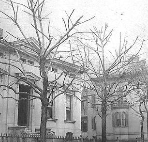 13th street left is mrs adam lemp house.