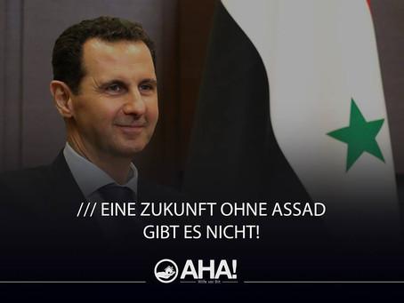 Eine Zukunft ohne Assad gibt es nicht!