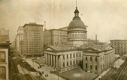 The Old Court House, ca. 1920. #STLPRS #seeAghost #oldSTL #AllThingsLemp