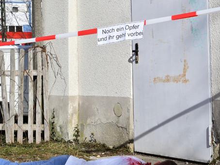 Machetenmann skalpiert deutschen Hausmeister in München