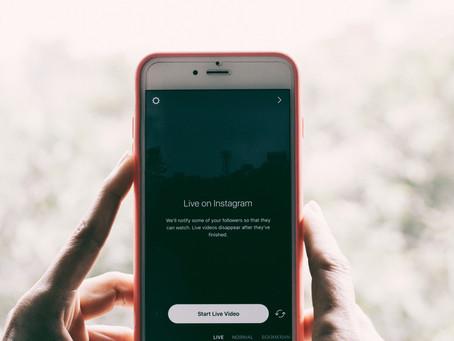 Mídias sociais: calendário de postagens de vídeos