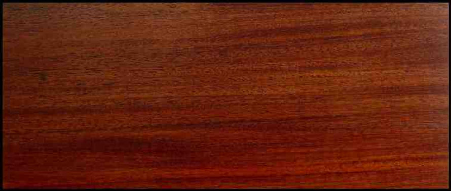 Example of Bolivian Rosewood for hardwood flooring, millwork, stairs, cabinets, doors and more available from Prodigy Hardwood Interiors.