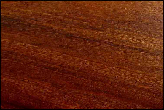 Example of Jarrah for hardwood flooring, millwork, stairs, cabinets, doors and more available from Prodigy Hardwood Interiors.