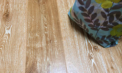 Wire Brushed White Oak